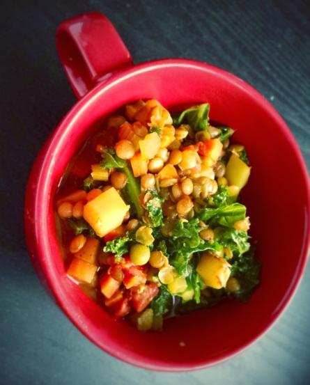 lentil curry FIRE soup